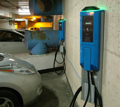 Indoor Electric Vehicle Charging Station